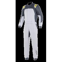 Alpinestars GP Pro Comp Suit - Silver Blue Asphalt Lime