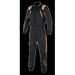 Alpinestars GP Pro Comp Suit - Black Orange Fluo