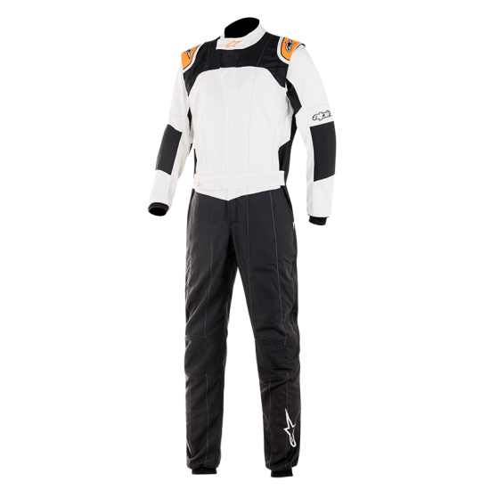 Alpinestars GP Tech v3 - Black White Orange Fluo