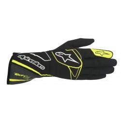 Alpinestars Tech 1-Z Glove - Black Anthracite Yellow Fluo