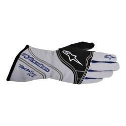 Alpinestars Tech 1-Z Glove - Silver Blue