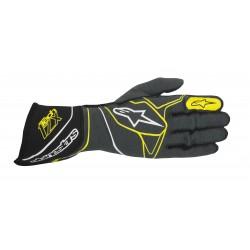 Alpinestars Tech 1-ZX Glove - Anthracite Black Yellow Fluo