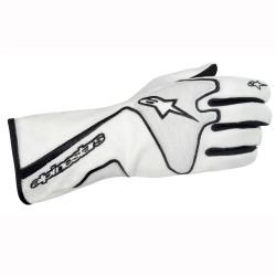 Alpinestars Tech 1 Race Glove - White Black