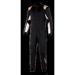 Alpinestars HyperTech v2 - Black White Orange Fluo