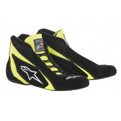 Alpinestars SP Shoe - Black Yellow Fluo