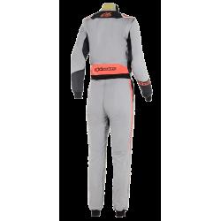 Alpinestars STELLA GP Pro Comp Suit - Mid Gray Black Coral