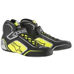 Alpinestars TECH 1-T Shoe - Black Yellow Fluo