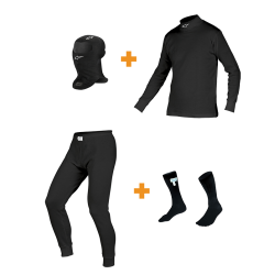 Alpinestars Race Underwear Combo Pack - BLACK