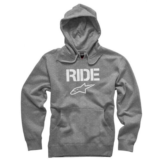 Alpinestars Ride PullOver Hoodie - Heather Grey