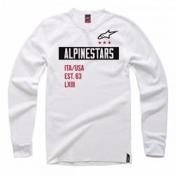 Alpinestars Valiant Crew Fleece - White