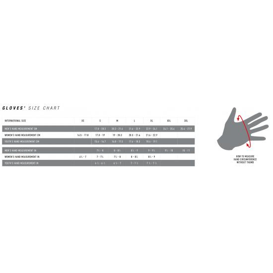 Alpinestars Tech 1 Race Glove - Black White