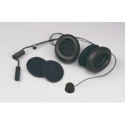 Stilo Full-face helmets intercom kit with earmuffs - WRC electronics