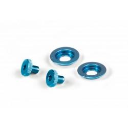 ST5 visor and sun screen screw kit Blue