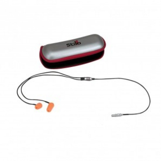 Stilo Earplugs kit with connection for turismo helmets
