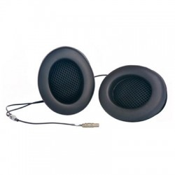 Stilo Rally Earmuffs with speakers with earplug connector