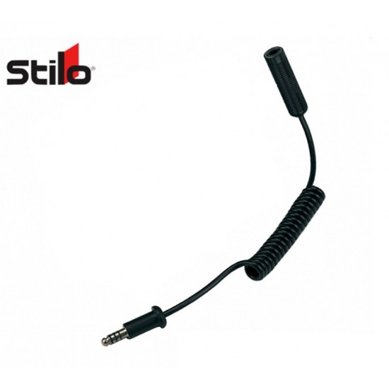 Stilo Spiral Extension cable Male - Female (500mm)