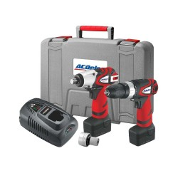 ACDelco Impact Wrench 1/2in and Hammer Drill Driver Combi Kit - ARK2096I